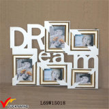 Dream 5 Opening Antique Collage Wood Wall Photo Frame