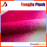 Bright Pink to White Gradient Jacquard High Pile Fur Fabric
