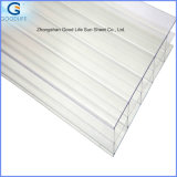 Hot Selled 100% Lexan Material 4mm-10mm Twinwall Polycarbonate Hollow Panel
