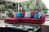 Modern Fabric Sofa with Armrest
