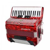 Goldencup Brand Piano Accordion 37keys 96bass