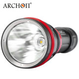 Archon 1200 Lumens Cold White 6500k LED Diving Flashlight with Magnetic Rotary Ring Switch