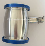 Sanitary Stainless Steel Ball Type Check Valve Welded with Drain