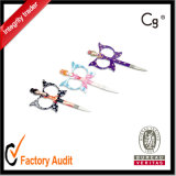 Butterfly Shape Manicure Scissors Eyebrow Tweezer Scissors Nail and Cuticle Scissors