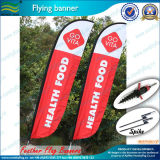 Outdoor Advertising Custom Feather Flag (B-NF04F06037)