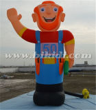 Giant Outdoor Inflatable Abraham Cartoon/ Model for advertising K9063