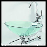 Houseware Clear Tempered Glass Basin