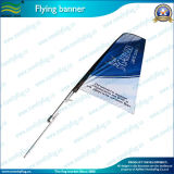 120GSM Knitted Polyester Custom Design Feather Flag with Steel Spike (J-NF04F06014)