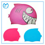 Kids Size 100% Silicone Swimming Accessories Sports Caps