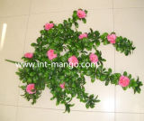 Plastic Ornamental Artificial Flower for Fence (MW16024)