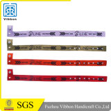 Personalized Promotional Gifts Printable Woven Wristbands Event