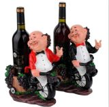 China Polyresin 3D Cooker Wine Holder