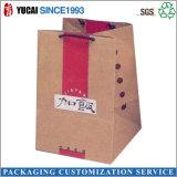 Customized Kraft Paperbag Handbag Food Bag