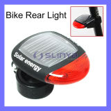 2.6 Inch Solar Panel 2 LED Solar Bike Tail Light