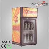 Super Mini Refrigerating Showcase with Single Glass Door