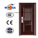 Window Shool Using Iron Exterior Metal Security Steel Door (W-S-114)