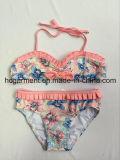 Lovely Pink Two Piece Bikini for Baby Girl/Baby, Kids Swimwear Swimsuit