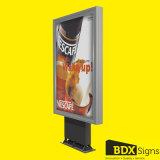 Single Sided Scrolling Light Box for Outdoor Advertising