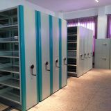 Mobile Shelving Filing Cabinets in Library Furniture