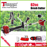 62cc Rotatable Handle Gasoline Brush Cutter with Anti-Vibration System