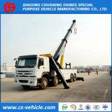 HOWO 8X4 30ton Towing Truck 360 Degree Fully Rotation Crane 30ton Wrecker Truck
