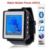 "Single Card Bluetooth 1.3"" Touch Screen Watch Phone"