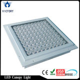 100W Recessed Projector Gas Station Fixture IP65 LED Canopy Light