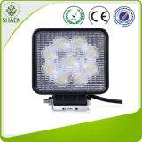 "4.8"" 27W Square Flood LED Work Light"