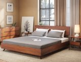 Modern Home Bedroom Furniture Latest Classic America Solidwood Single / Double Bed Designs of Queen Size