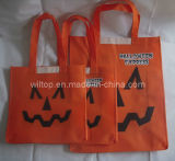 Halloween Non-Woven Tote Bag with Reflective Strip (PM032)