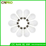 High Power Plastic +Aluminum E27 LED Lighting Bulb 9W