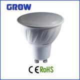 5W GU10 Plastic Plus Aluminum LED Spotlight