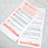 Wholesale Printed Non-Woven Printed Stickets Label for Apparel