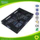 Black Color HDPE Single-Side Cross-Section Plastic Pallets