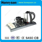 ABS Plastic Kettle Based 3 in 1 Kettle with Tray Set