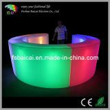 LED Illuminated Plastic Bar Counter