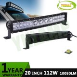 """20"""" 112W CREE Hybrid Rows Work LED Curved Driving Bar"""