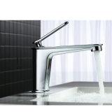 Sanitary Ware Chrome Brass Deck Mounted Bathroom Basin Faucet