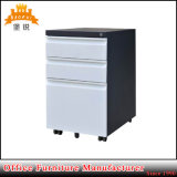 Low Price Colorful Office Steel 3 Drawer Mobile Pedestal Filing Cabinet