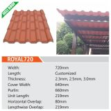Spanish Type Resin Roof Tile/Sheet/Panel for Villa