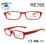 Red Frame Women New Model Custom Reading Glasses (RE765)