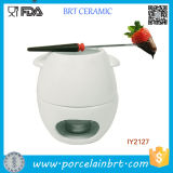 Wholesale Blank Ceramic Chocolate Warm Fondue Grill