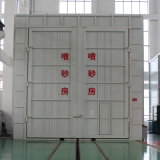 Sand Blasting Chamber Equipment with Automatic Recovery System