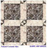 Glazed Rustic Ceramic Tiles, Marble Looked Porcelain Floor Tile
