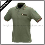 Fashion Cotton Polo Shirt for Men Women Apparel (BYH-10344)
