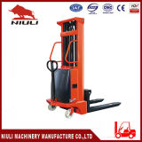 2 Ton Semi Electric Stacker with Ce Certification