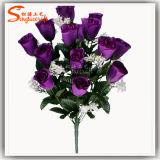 Silk Wedding Rose Flower Bouquet Artificial Flower Real Touch Flower