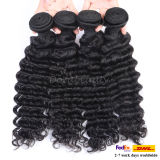 Unprocessed Deep Wave Hair Brazilian Virgin Hair Weave