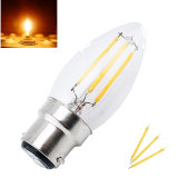 LED B22 Filament Bulb Light 2W 4W Bayonet Base Candle