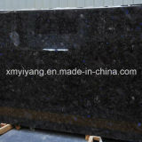 Black Galaxy Granite Countertop for Kitchen or Bathroom
